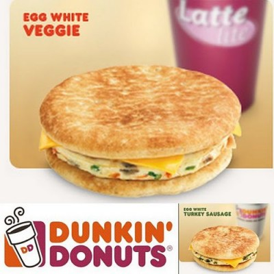 Dunkin' Donuts Flatbread