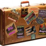 suitcase for spring break