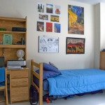 Organized Dorm Room