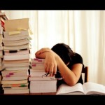 studying and overworked