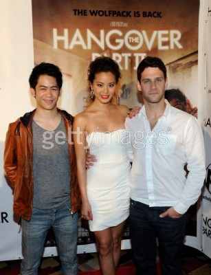 Mason Lee, Jamie Chung, and Justin Bartha