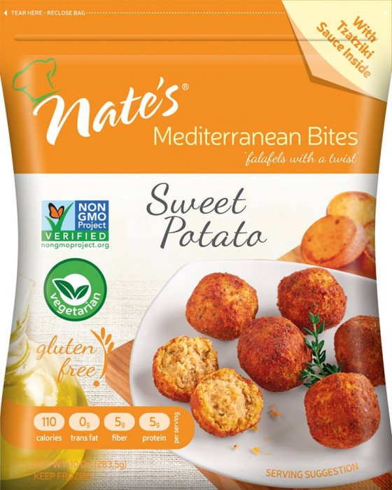 Nate's Mediterranean Bites Bring Flavor Back to the Freezer Aisle
